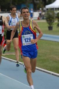 Daniele Dottori 2° nei 1500m ai Camp.Italiani Master