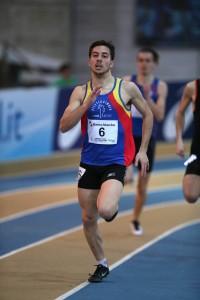 Francesco Conti bronzo nei 400 Promesse (foto Fidal Colombo/Fidal)