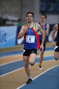 Francesco Conti ha vinto il meeting di Ancona negli 800 metri (foto FIDAL Colombo)