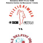 Basket Carrozzina: Domenica si gioca Imola – Vicenza
