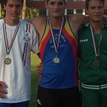 MICHELE BRINI vice campione Italiano di Decathlon Allievi con 6662 pt.