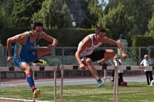 Luca Casadei vince i 110 h (foto Mauro Casini)