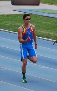 Lorenzo Bilotti, all'Arena di Milano vince il titolo di Campione Italiano Universitario nei 100 mt.
