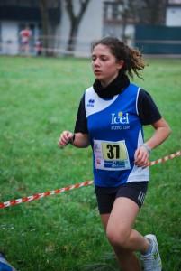 Giorgia Bacchilega 9° nella categoria allieve