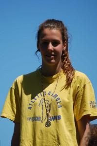 Marta Morara, 1.63 in salto in alto.