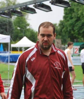 Il martellista Andrea Fagliarone è arrivato quarto  con 51.23