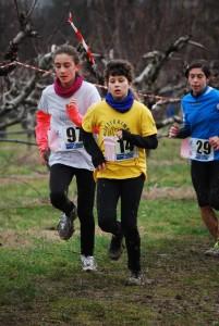 Gaia Bulzamini, quarta nella gara di 1500 mt categoria ragazze
