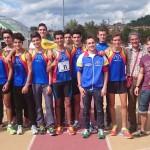 Orvieto: 11° l'Atl. Imola ai Campionati di Società Allievi