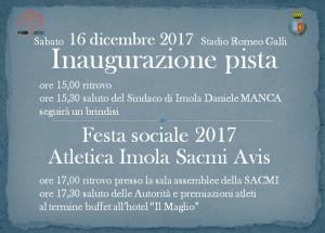 Invito festa sociale 2017