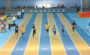 Benati ai campionati Italiani Indoor