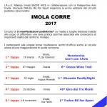 CONCLUSO IL CIRCUITO «IMOLA CORRE 2017», A CASTEL MAGGIORE 16 ATLETI HANNO CORSO LA MARATONINA
