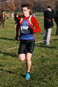 Luca Malpighi, vincitore della categoria allievi