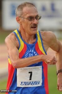 Pierino Tamburini Campione Italiano Master  M55 nella 20km di marcia
