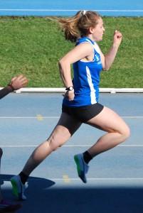 Sara Ronchini si migliora di 34 centesimi nei 400 piani