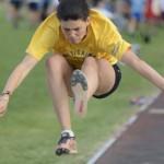 La cadetta Sofia Zanotti 5.28 nel lungo!