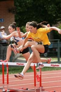 L'allieva di Gabriele Obino, Sofia Zanotti, per la prima volta oltre i cinque metri