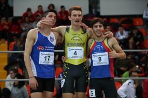 """Francesco Conti ha vinto per il secondo anno consecutivo il campionato italiano junior indoor dei 400mt  in 48""""80"""
