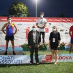 Michele Brini, è argento nel decathlon agli Assoluti di Padova