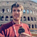 Luca Cavina in evidenza alla XXV° Maratona Internazionale di Roma