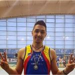 Bronzo nei 50 ostacoli per Andrea Mazzanti ai Campionati regionali indoor
