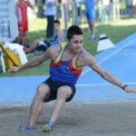 Andrea Mazzanti d'argento nel salto in lungo ai Campionati regionali indoor