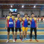 La staffetta 4×200 Allievi ha conquistato il minimo per i Campionati italiani indoor di categoria