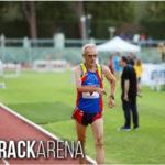 Europei Master di atletica, nuovo personale per il marciatore Pierino Tamburini
